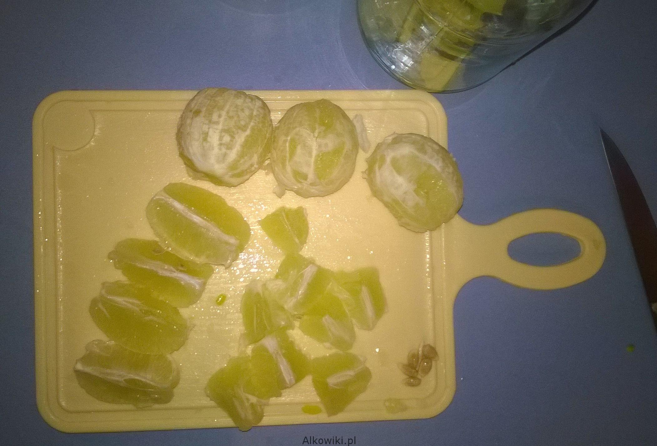 Cytrynowa nalewka