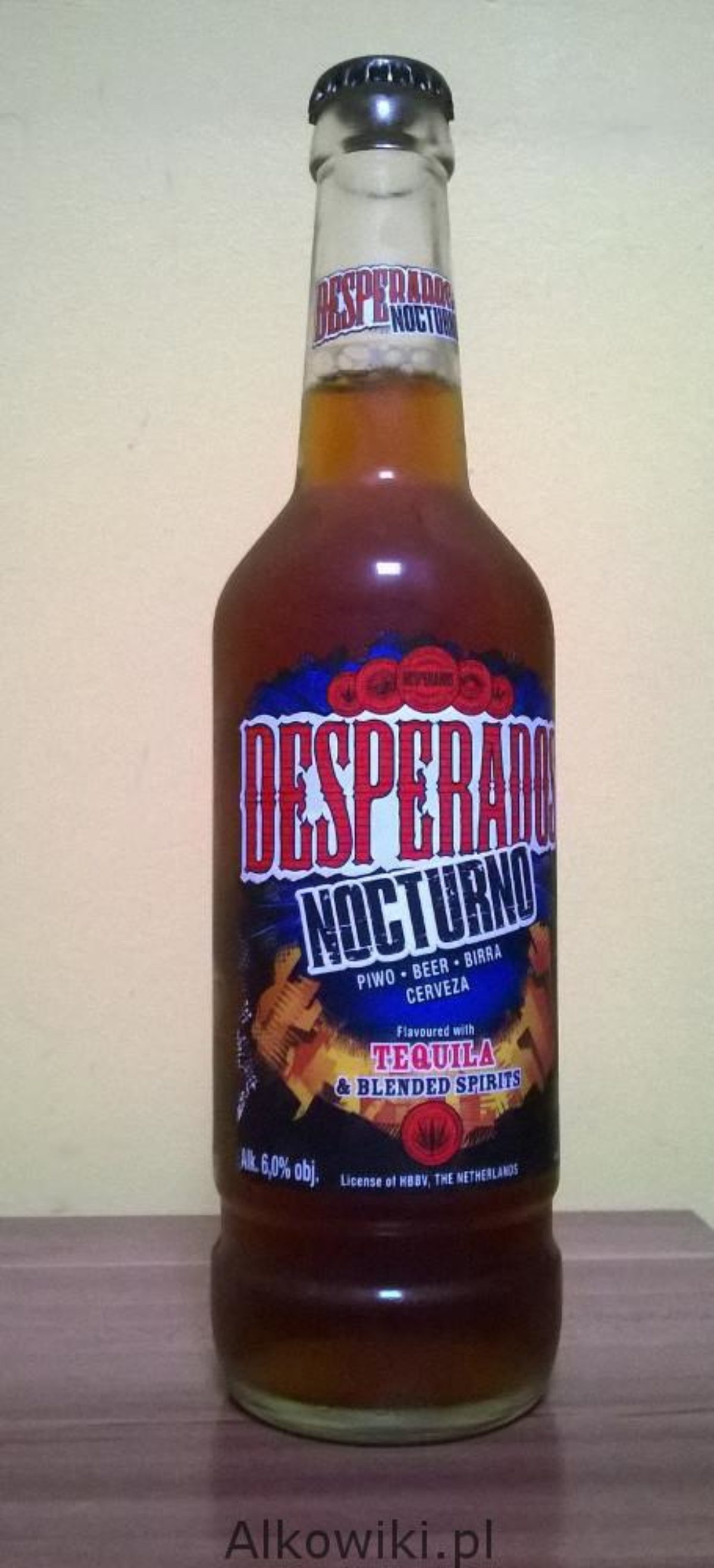 Desperados Nocturno Ocen Alkohol Ceny Recenzje Przepisy I Opinie