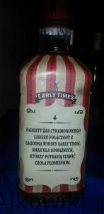 Early Times Fire Eater Cinnamon Liqueur