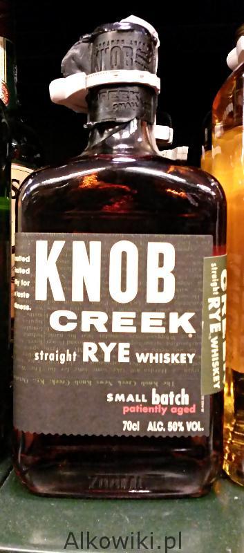 "knob creek straight rye whiskey ocea"" alkohol ceny recenzje"