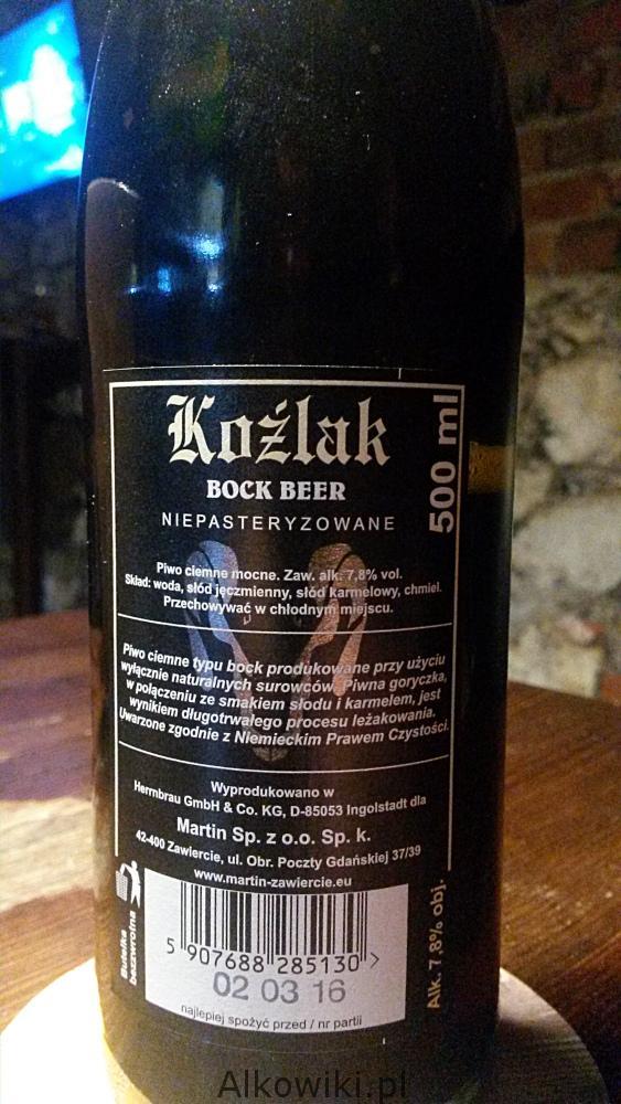 Koźlak Bock Beer