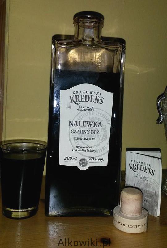 Krakowski Kredens nalewka czarny bez