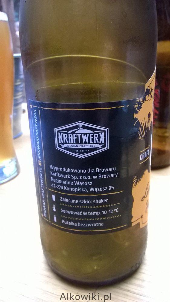 M16 Trawa Cytrynowa piwo etykieta