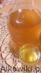 Nalewka pomarańcza z kawą