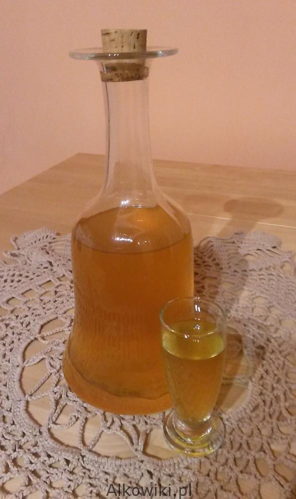 Nalewka pomarańczowa z kawą