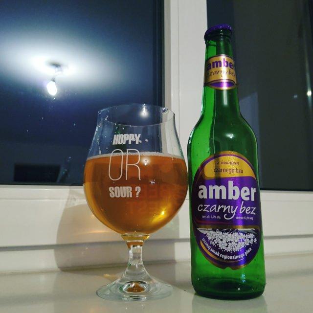 Amber Czarny Bez