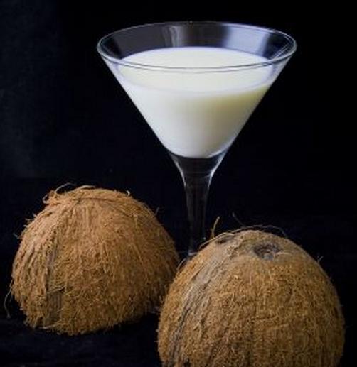 Drink bananowo-kokosowy