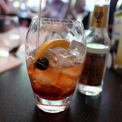 gin z owocami