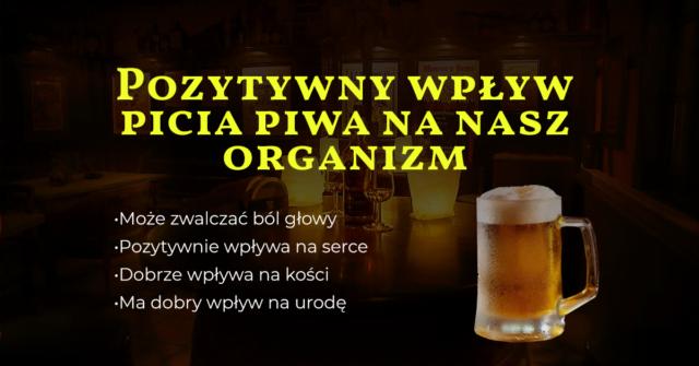 pozytywy picia piwa