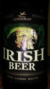 irish beer etykieta