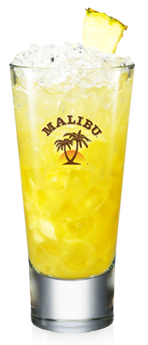 Malibu and Pineapple Crush