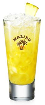 Malibu and Pineapple Crush