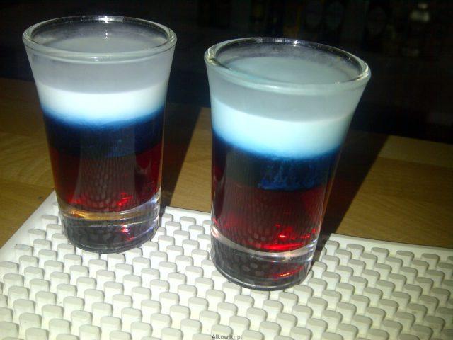 rosyjska flaga shot