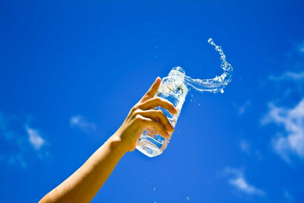 Woda jest najlepsza na kaca